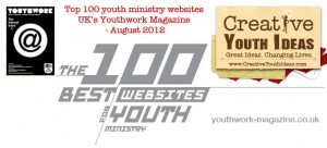 Creative Youth Ideas Ranked as one of the top 100 websites for Youth Ministry