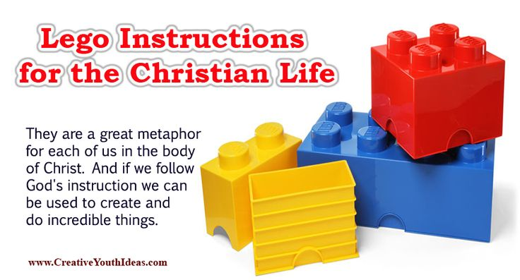Lego Instructions For The Christian Life Game Ideas Www