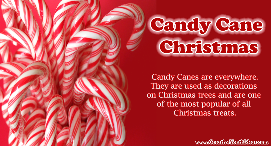 Christmas Candy Cane.Candy Cane Christmas Game Ideas Www Creativeyouthideas Com