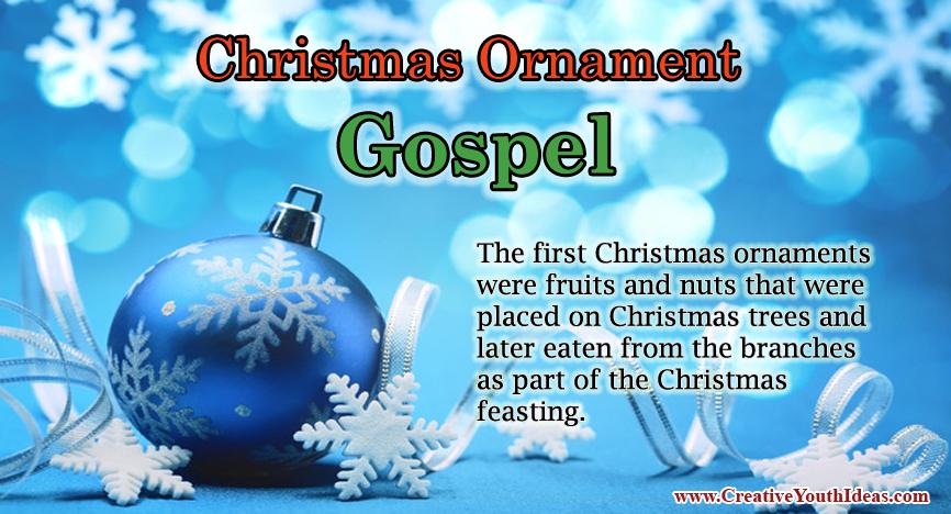 Christmas Ornament Gospel