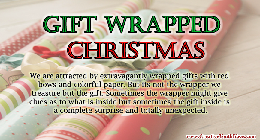 Gift Wrapped Christmas | Game Ideas | www.CreativeYouthIdeas.com