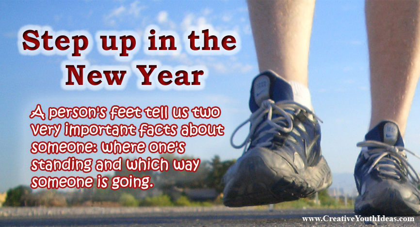 Step up in the New Year